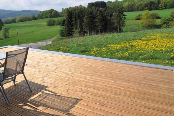 Holzterrassen Bauen Terrassendielen Verlegen